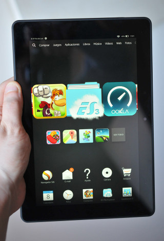 Kindle Fire HDX 8.9 - 1