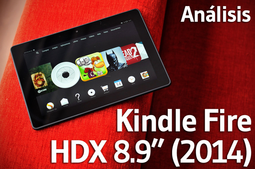 Kindle Fire HDX 8.9 2014 - Portada