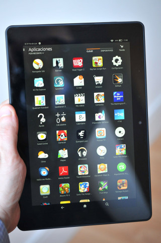 Kindle Fire HDX 8.9 - 7