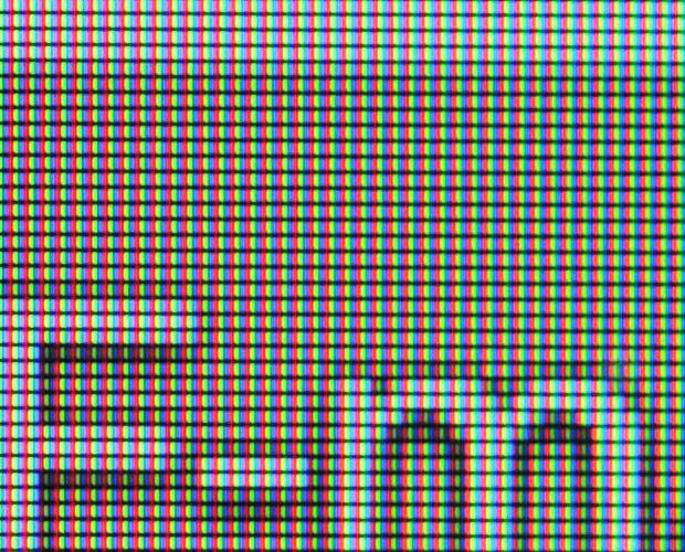 LG G3 S - pantalla RGB