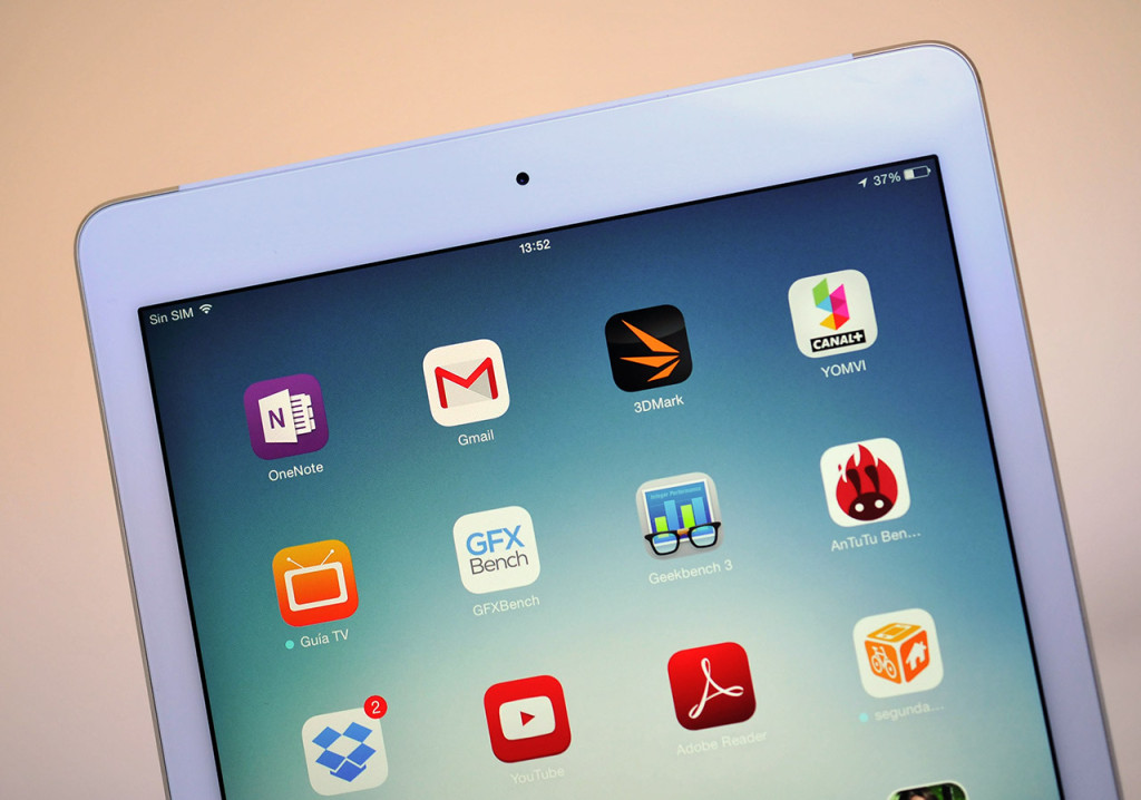 Apple iPad Air 2 - Pantalla