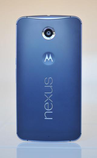 Google Nexus 6 - Atras