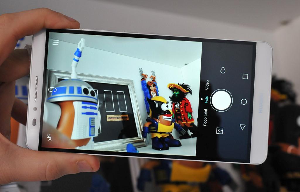 Huawei Ascend Mate7 - Camara