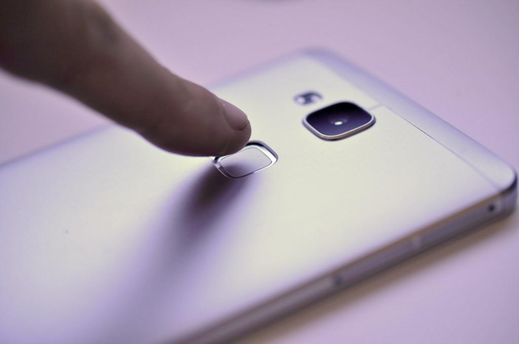 Huawei Ascend Mate7 - Lector huella dactilar