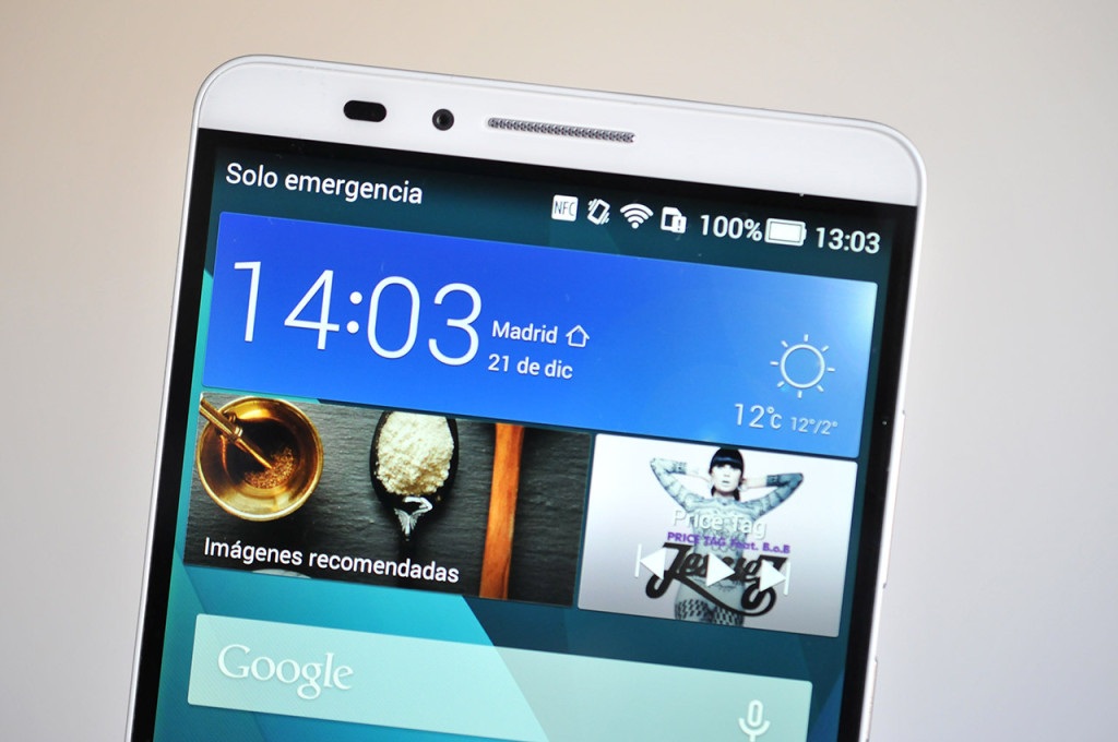 Huawei Ascend Mate7 - Pantalla