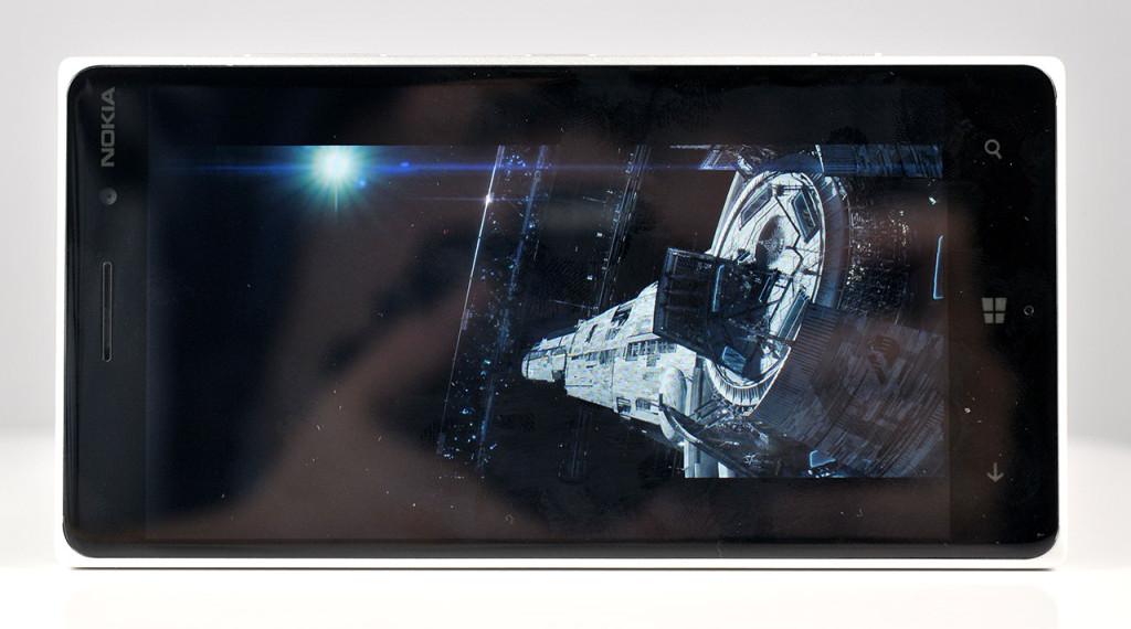 Nokia Lumia 830 - pelicula