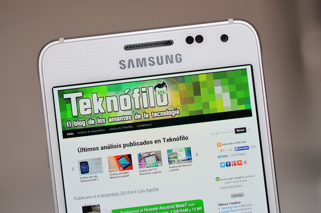 Samsung Galaxy Alpha - 4