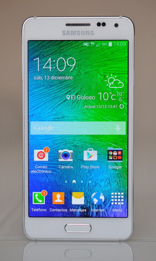 Samsung Galaxy Alpha - Frontal