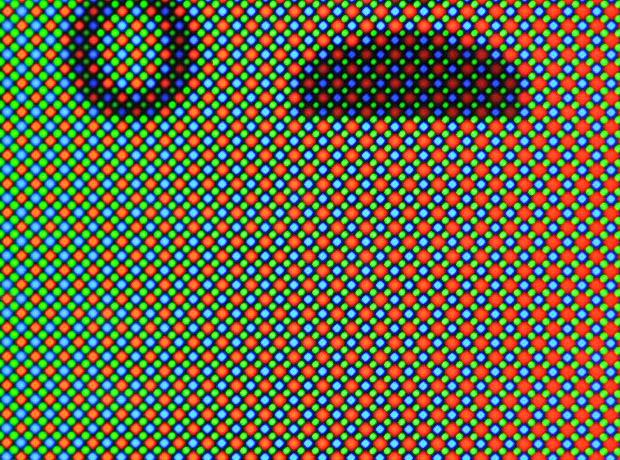Matriz PenTile del Samsung Galaxy Alpha