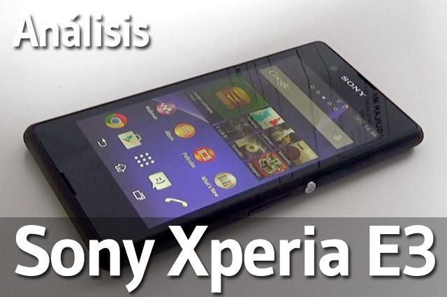 Sony Xperia E3 - Analisis