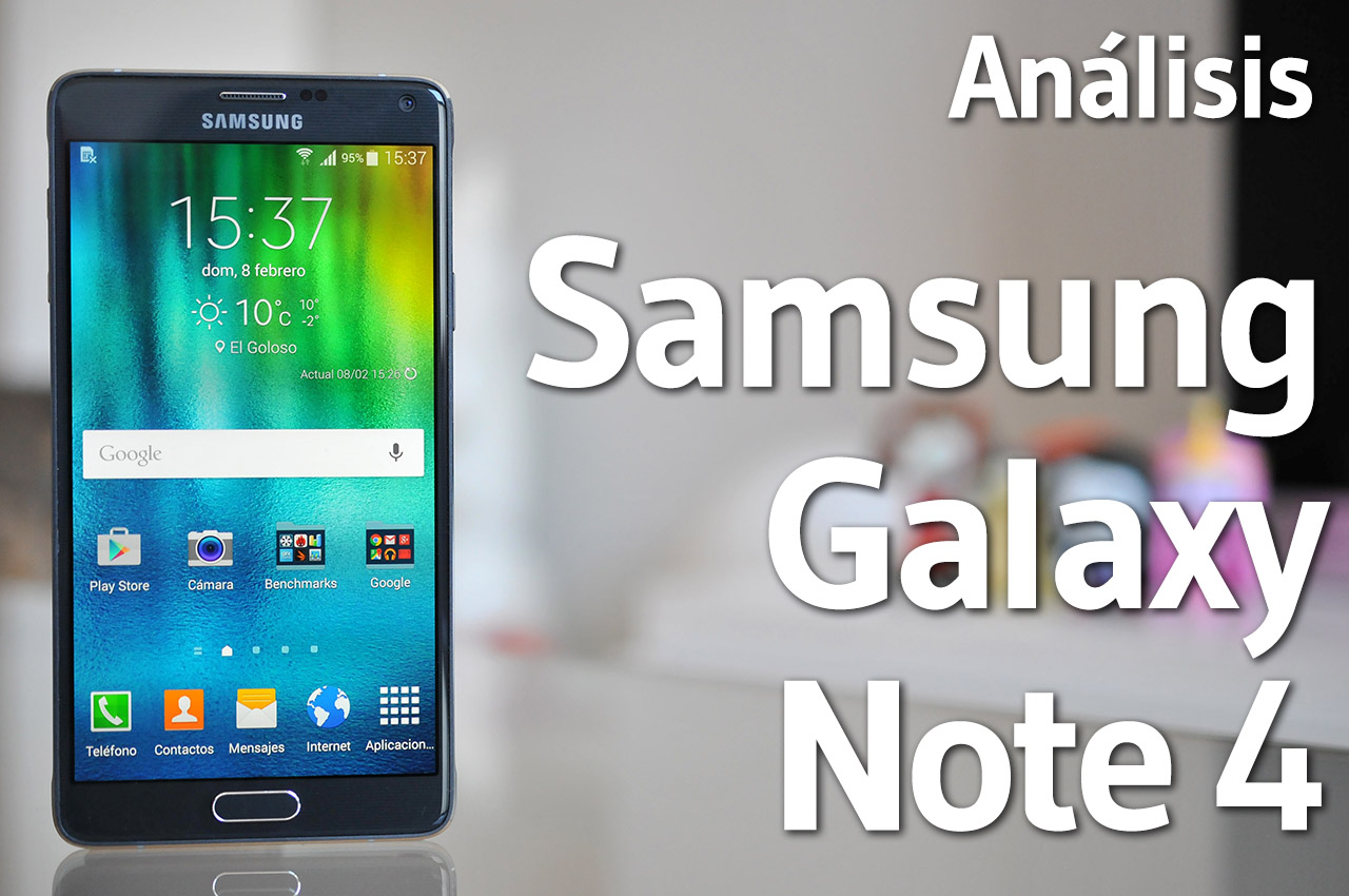 Samsung Galaxy Note 4 - Analisis