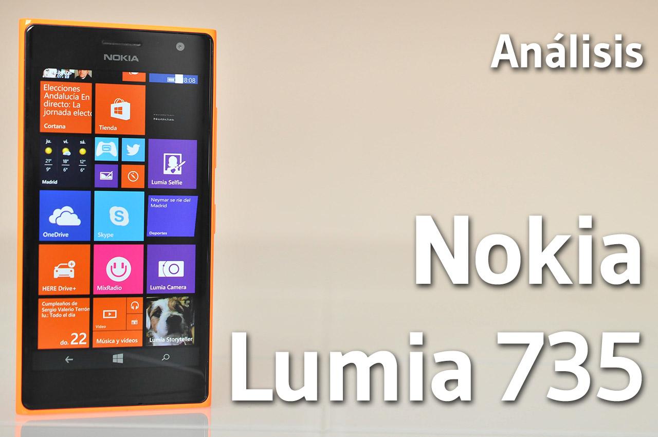 Análisis del Nokia Lumia 735