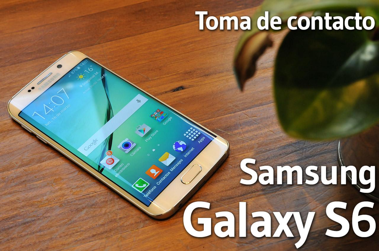 Samsung Galaxy S6 - Toma de contacto