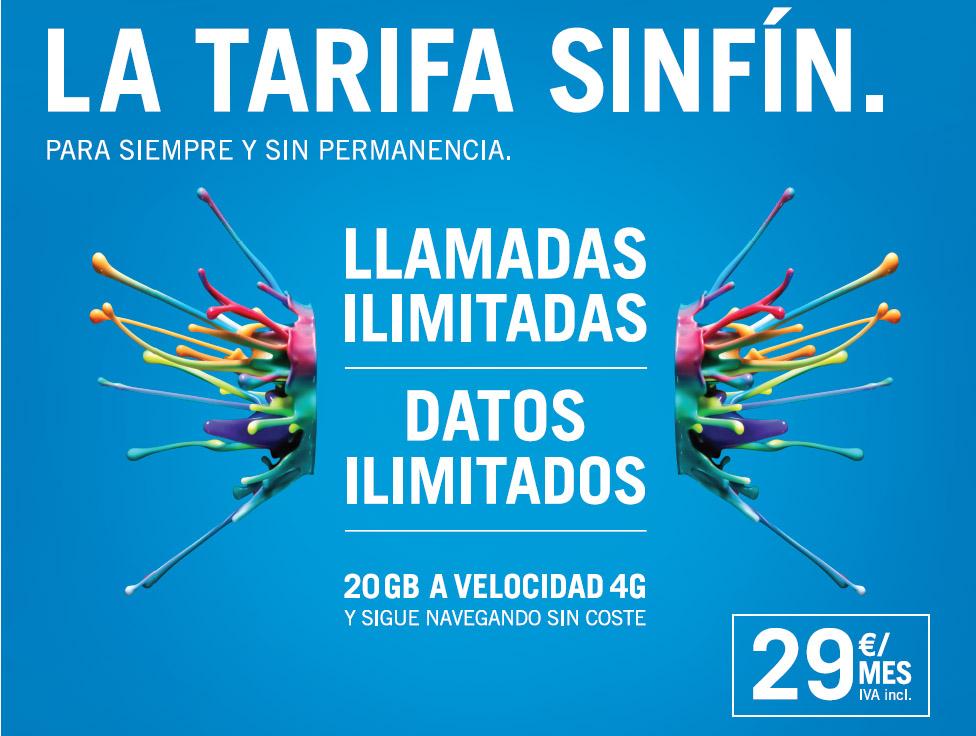 Tarifa sinfin