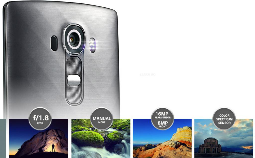 LG G4 camara