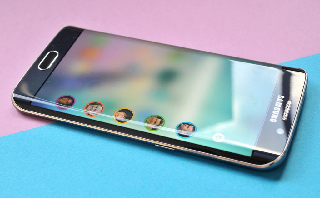 Samsung Galaxy S6 edge - Contactos Edge