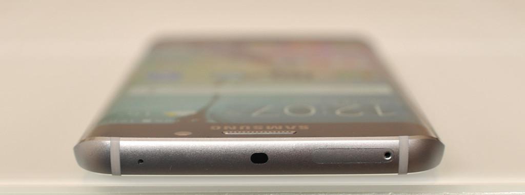 Samsung Galaxy S6 edge - arriba