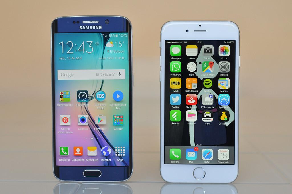 Samsung Galaxy S6 edge - iPhone 6