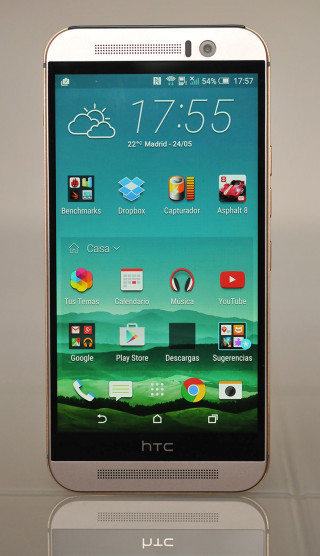 HTC One M9 - Frontal