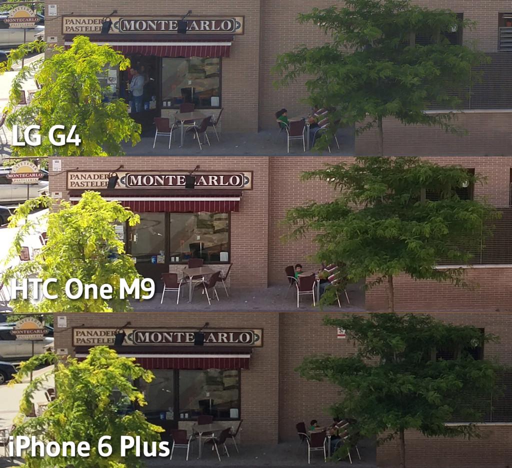 HTC One M9 - LG G4 - iPhone 6 Plus - Dia