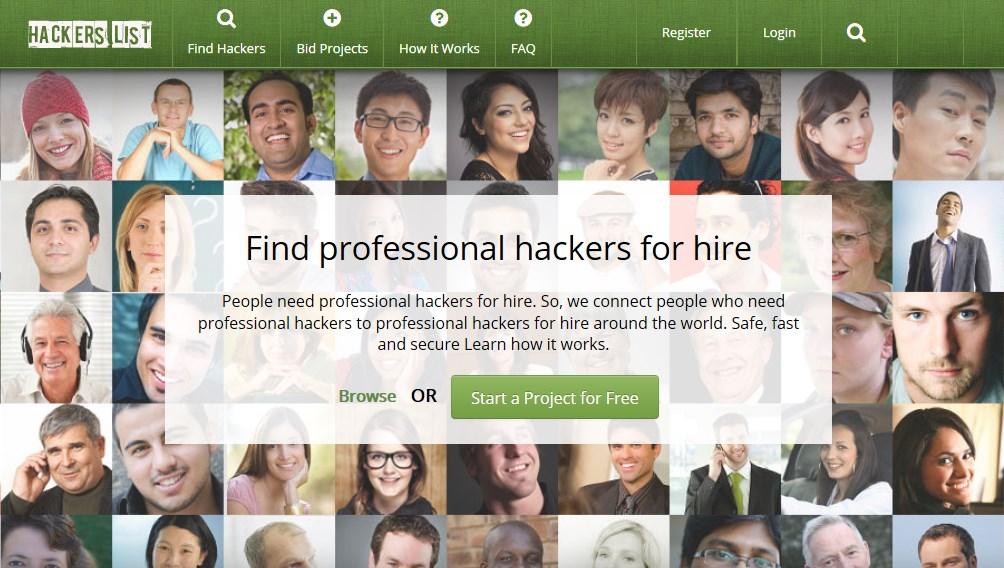hackers list