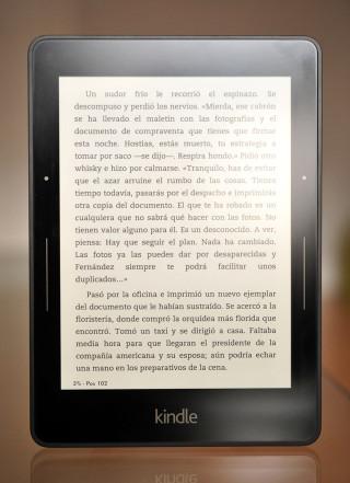 Kindle Voyage - delante