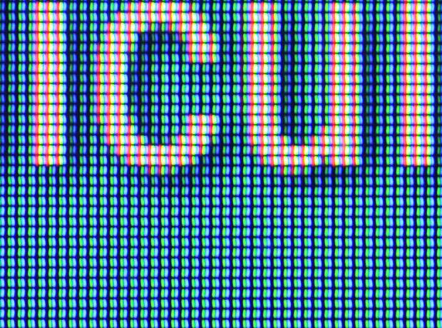 Matriz RGB de la pantalla del Sony Xperia M4 Aqua