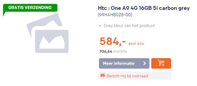 htc one a9 precio