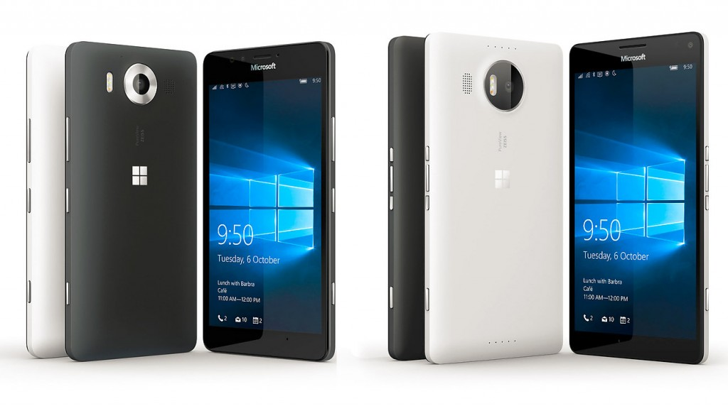lumia 950 y lumia 950xl