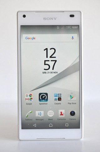Sony Xperia Z5 Compact - frontal