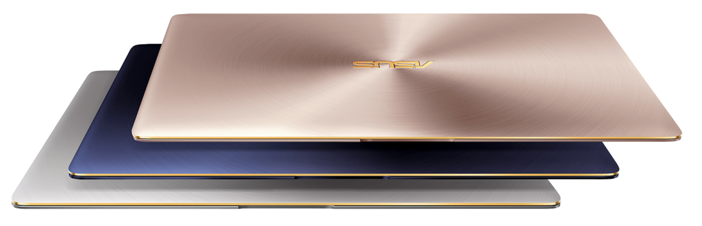 ASUS ZenBook 3_UX390_royal blue_rose gold_quartz grey