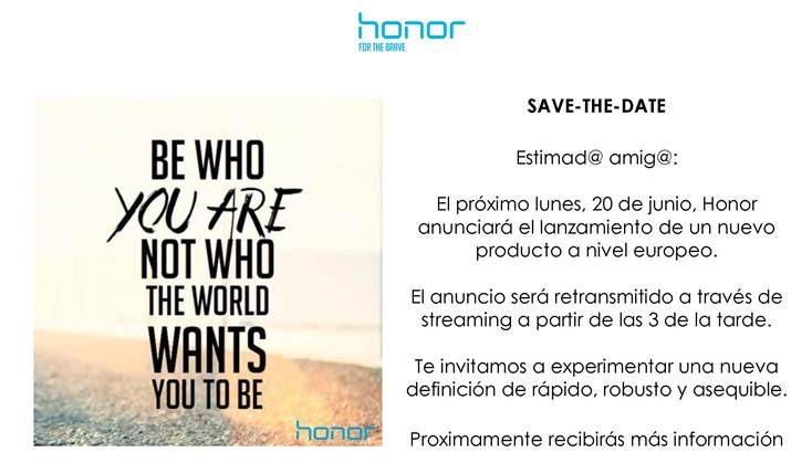 invitacion honor