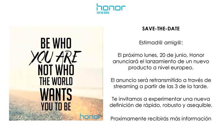 invitacion honor
