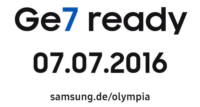 Samsung Galaxy S7 Olympic Edition