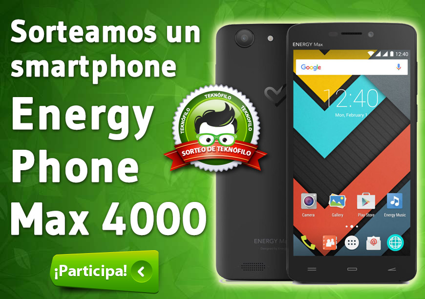 sorteo energy phone max 4000