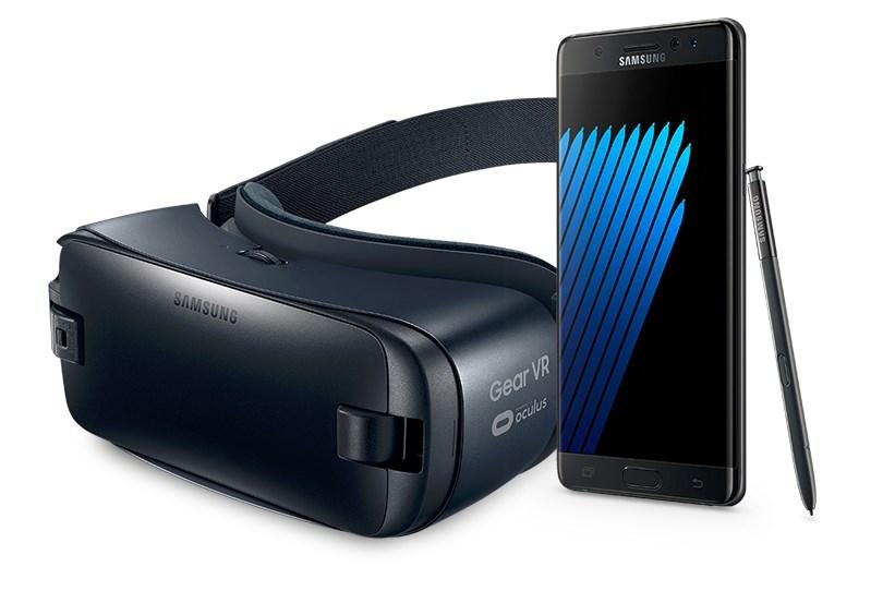 samsung galaxy note 7 y Gear VR - Teknofilo