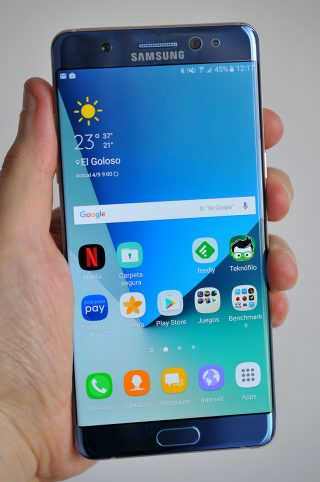 Analisis Samsung Galaxy Note 7 - 8