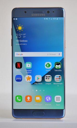 Analisis Samsung Galaxy Note 7 - Teknofilo - Frontal