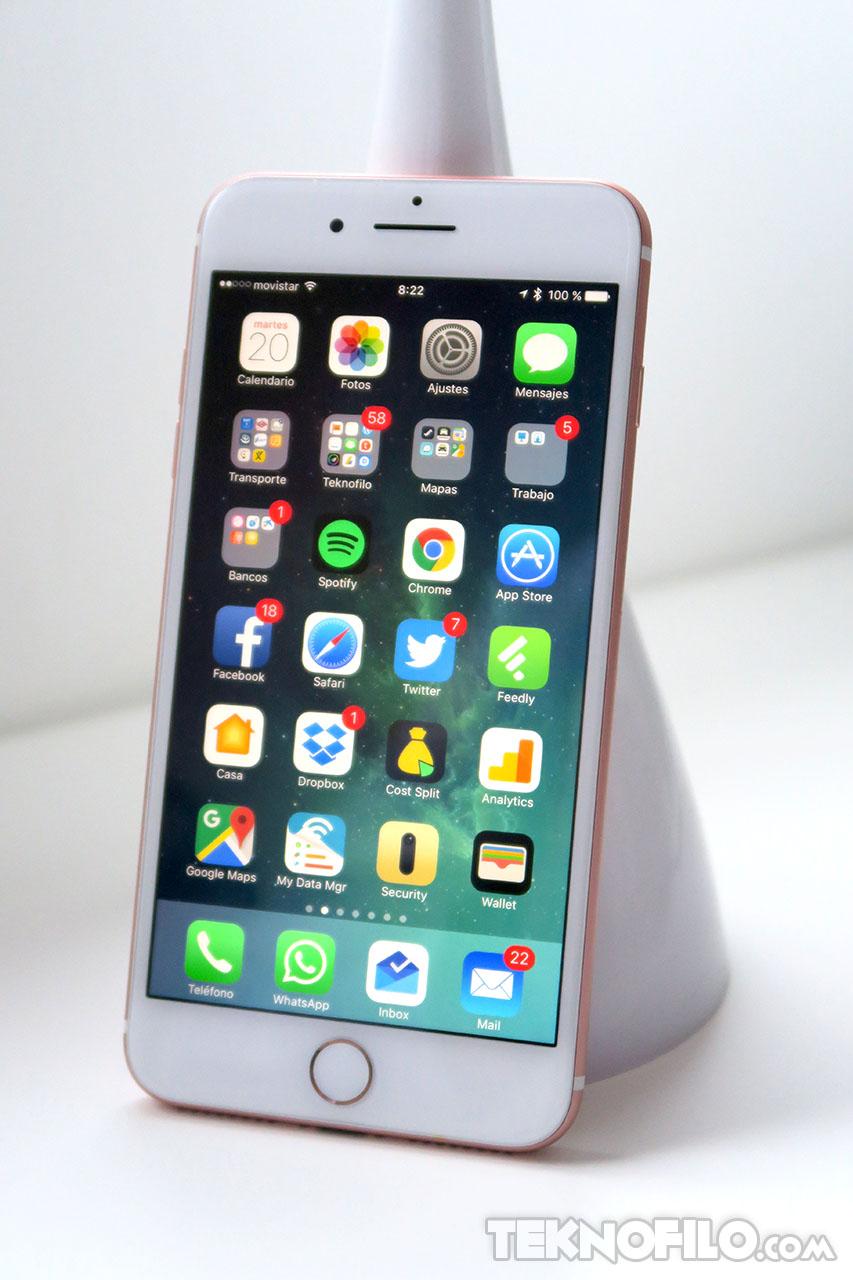 an lisis a fondo de la pantalla del iphone 7 plus tekn filo