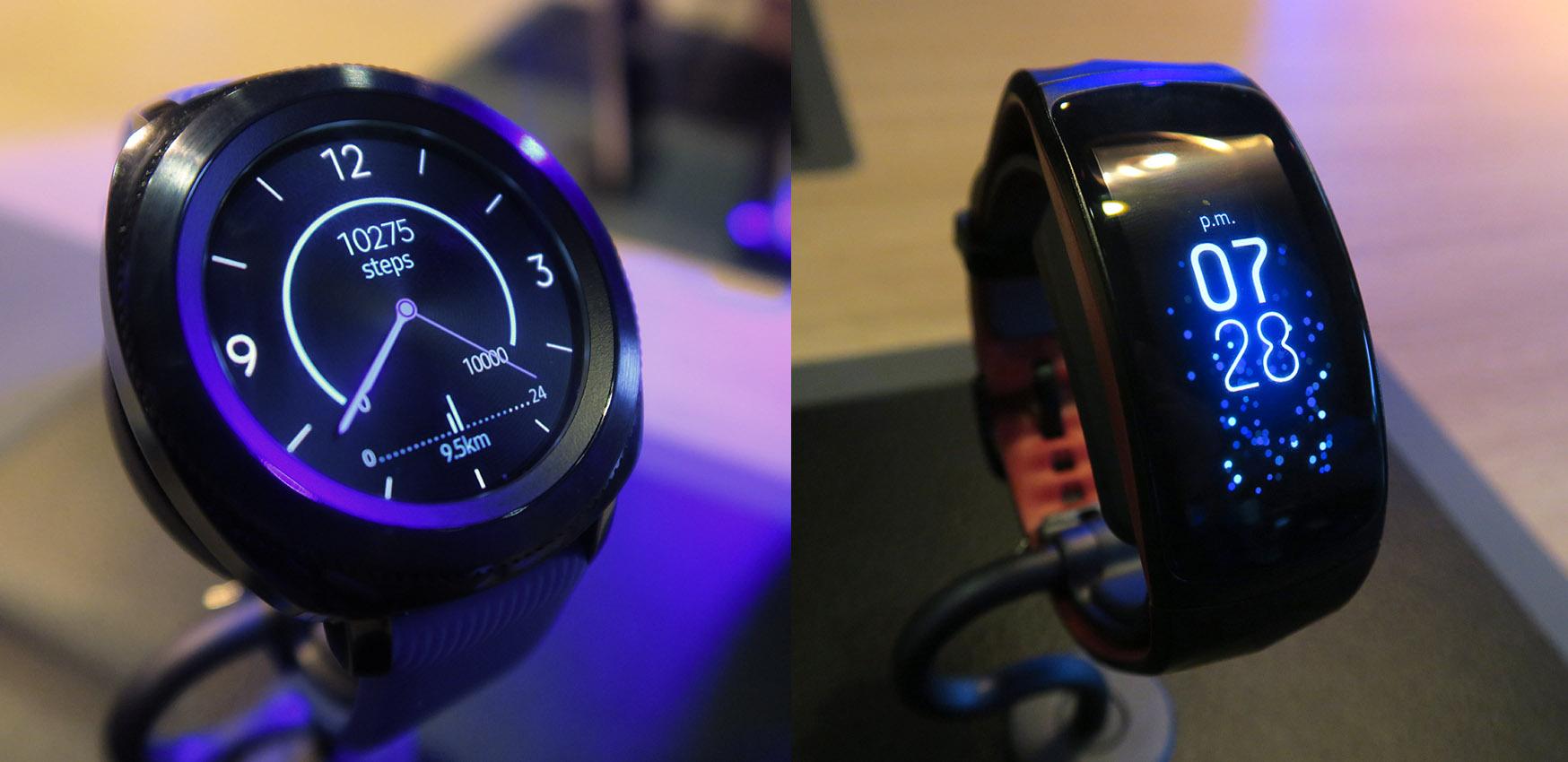 dafa5e42f8e Samsung ha anunciado dos nuevos productos que guardan una gran similitud   el reloj inteligente Gear Sport y la pulsera de actividad física Gear Fit2  Pro.