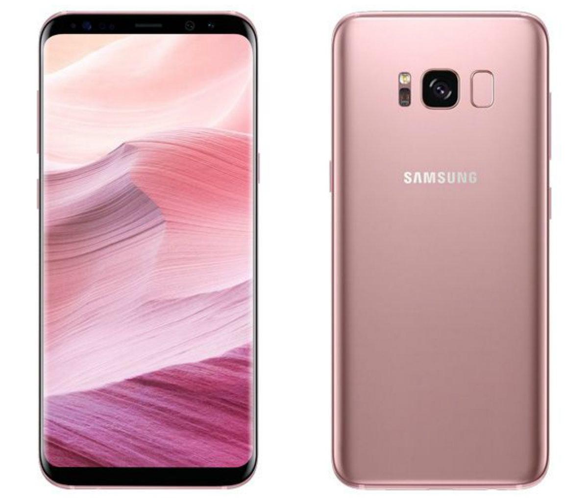 El Samsung Galaxy S8 en color rosa podría llegar a Europa en los ...