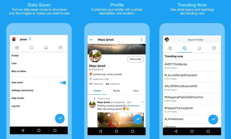 Ya puedes descargar la app Twitter Lite para ahorrar datos en tu ...