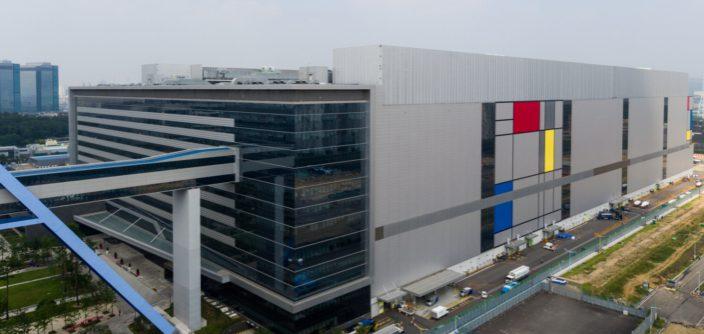 Línea de fabricación S3 de Samsung Electronics ubicada en Hwaseong, Corea