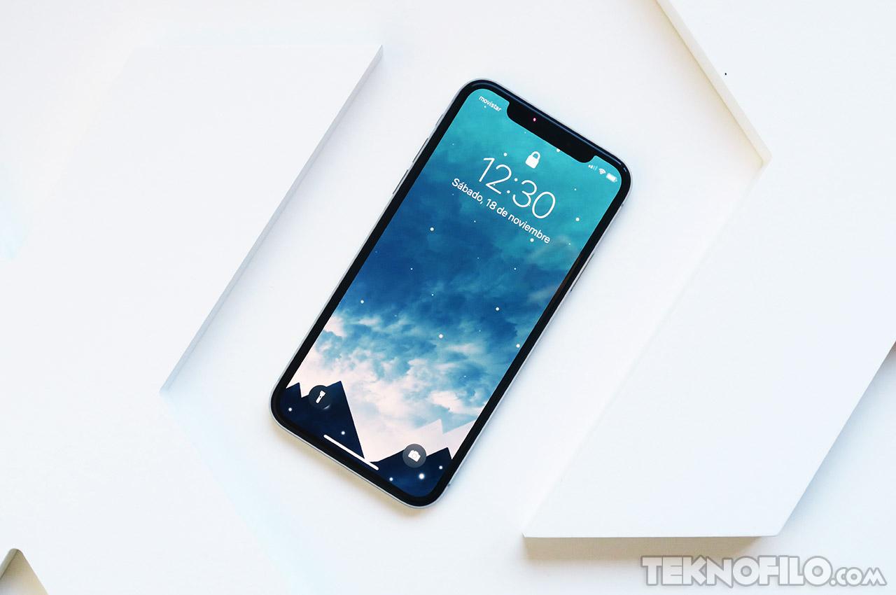 An lisis del iphone x a fondo y opini n review tekn filo for Fondo de pantalla 3d iphone x
