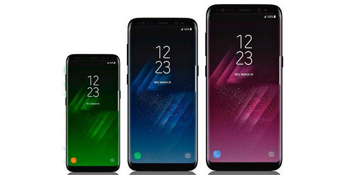 Samsung Galaxy S9 tres variantes