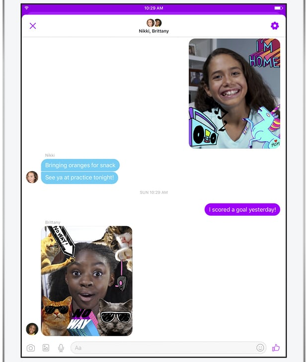 Messenger Kids Chat