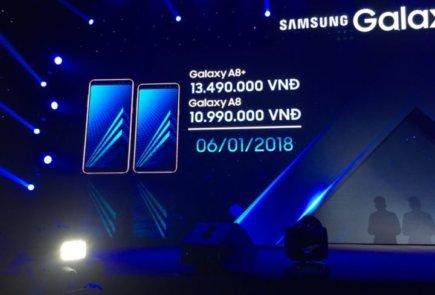 Fecha de lanzamiento y precio de los Galaxy A8 (2018)