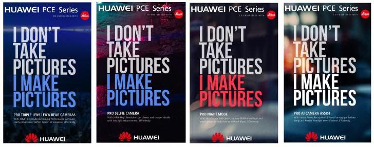 Campaña filtrada Huawei PCE Series