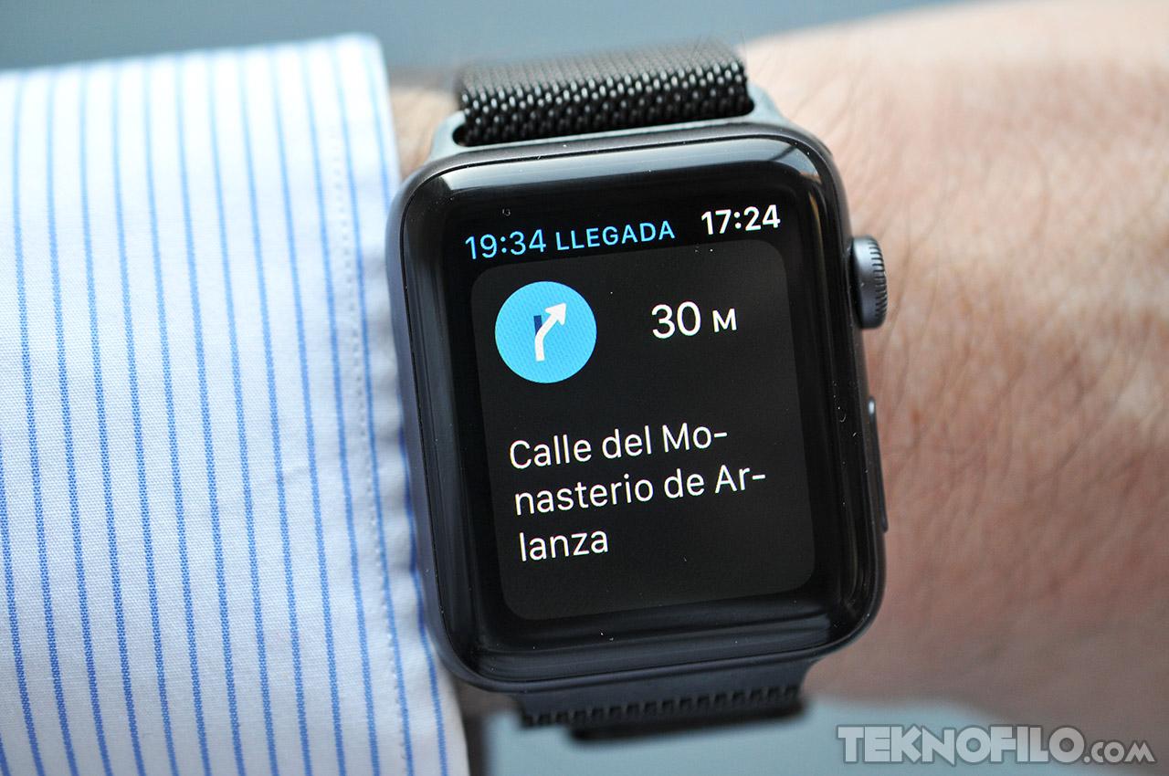 8728d51d37db2 La app Mapas es una de las mejor adaptadas al tamaño de pantalla del Apple  Watch