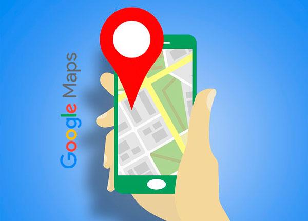 Google Maps alertas transporte publico